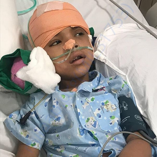 Out of ventilator ...keep him in your prayers .. response is important