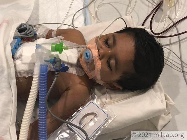 Help 1-year-old Pari fight a severe heart disease