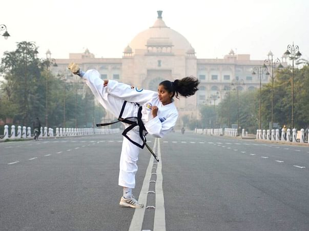 This Bengaluru Girl Represent India In World Taekwon-Do Championship.
