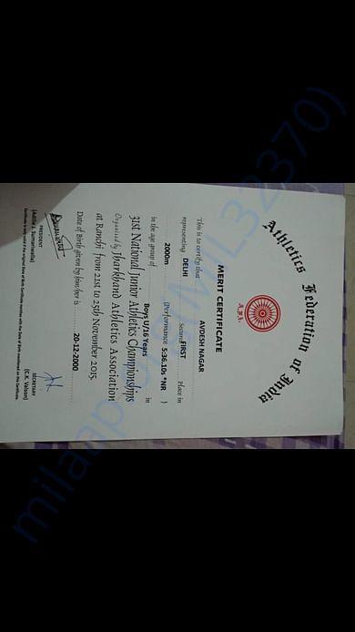 Certifate