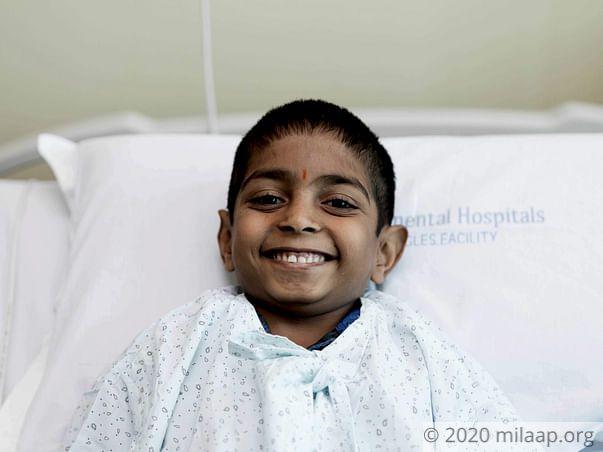 Help 8-year-old Varun fight a severe kidney disease