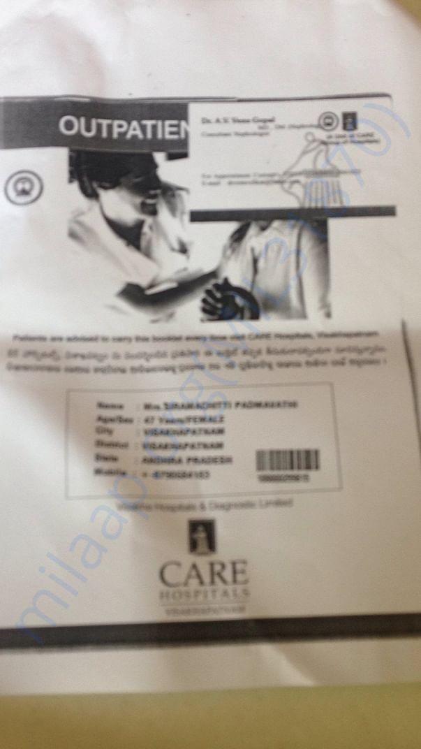 Doctor Visting Card