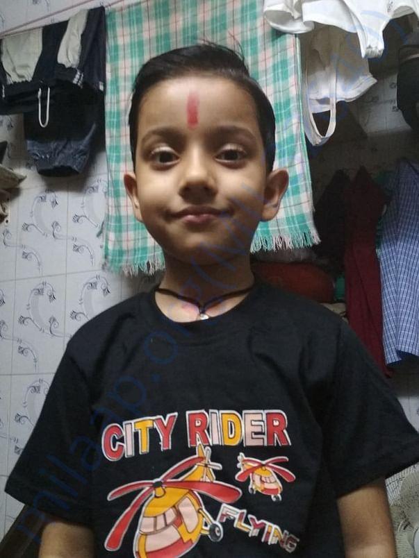 Saraswati's 6 year old child