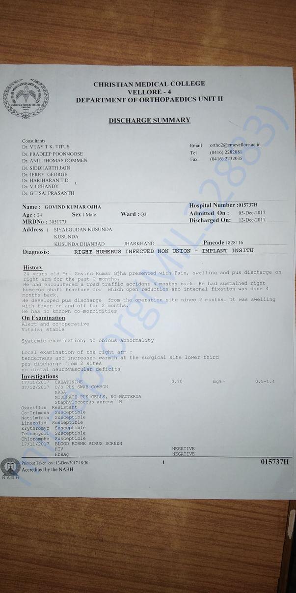 Medical report latter-1