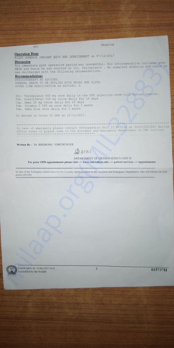 Medical report latter-2