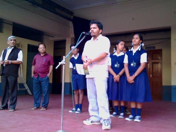 Prasanna karthik - Educating the Youths