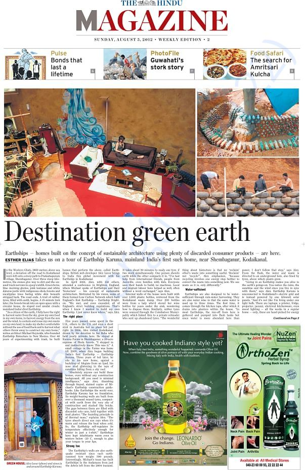 The Hindu: Destination green earth