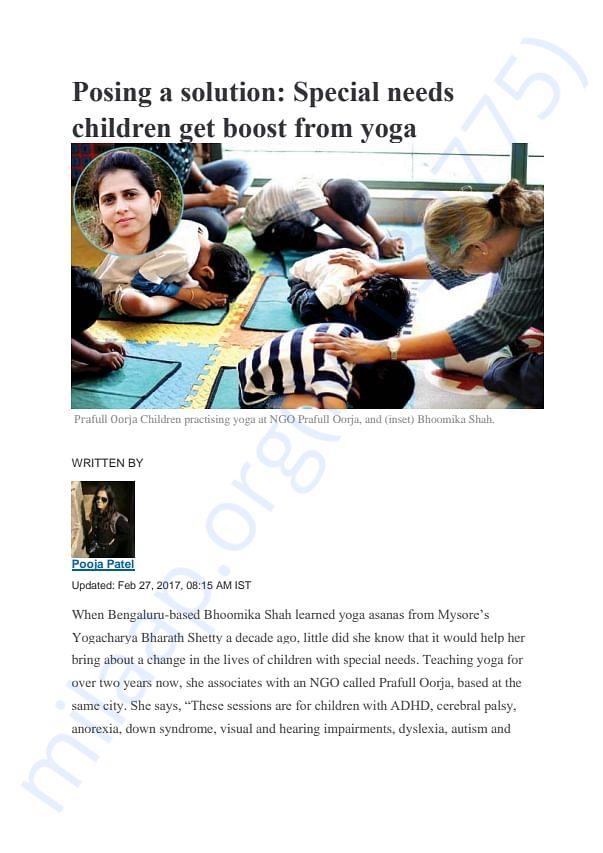 Prafull Oorja Media Coverage - DNA India
