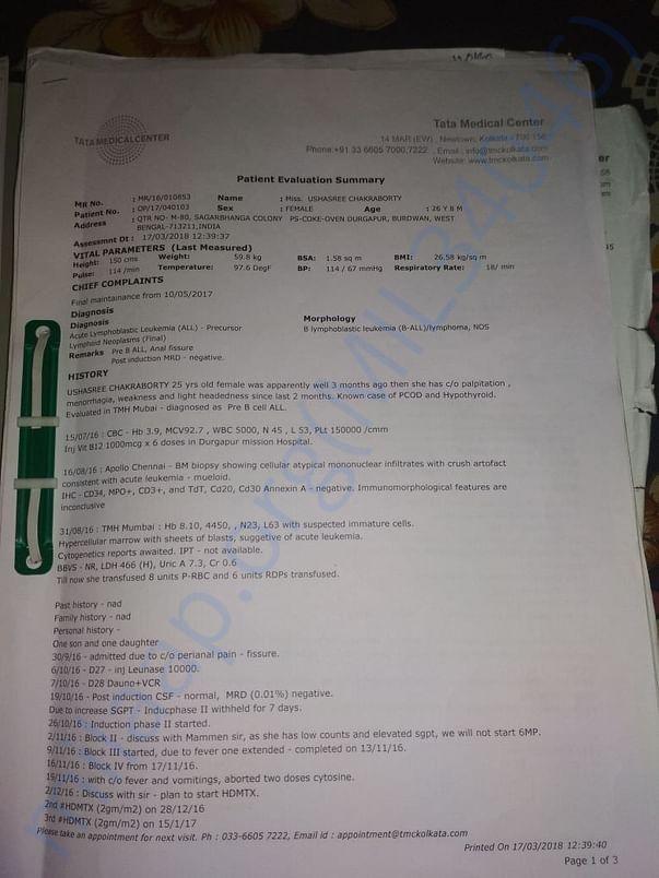 Medical assessment 3