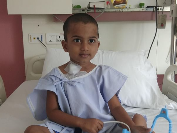"""Help 3 Year Old Saksham Fight Blood Cancer"""