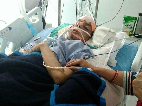 Help Ashish Fight Brain Hemorrhage & Kidney Failure In The ICU
