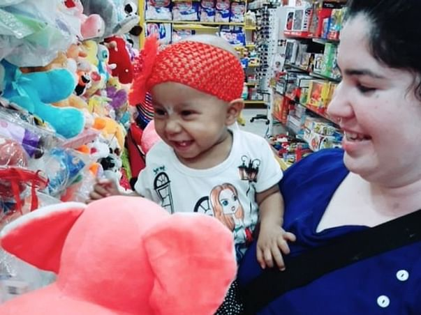 This 1-year-old Who Had A 1 Kilo Tumor Needs Help To Survive