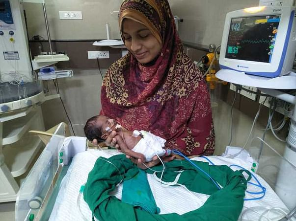 Save Baby Yusuf fighting to live in the ICU