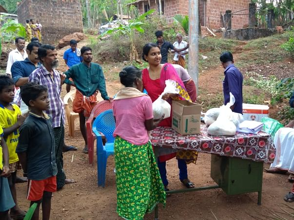Built Toilet For Tribals And Provide Them With Food And Clothes