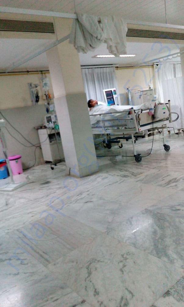 Patient  at SICU
