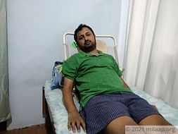 31-year-old Naveen is slowly losing his body to a nerve condition