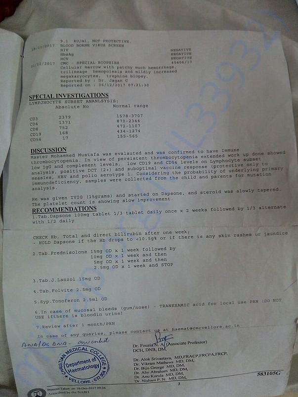 Older diagnosis report Page 2