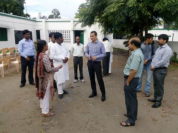 Visit of DM Lucknow as a good gesture to appreciate transformation