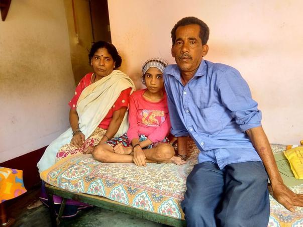 Girl from Karnataka seeking help for her spine surgery.please save her