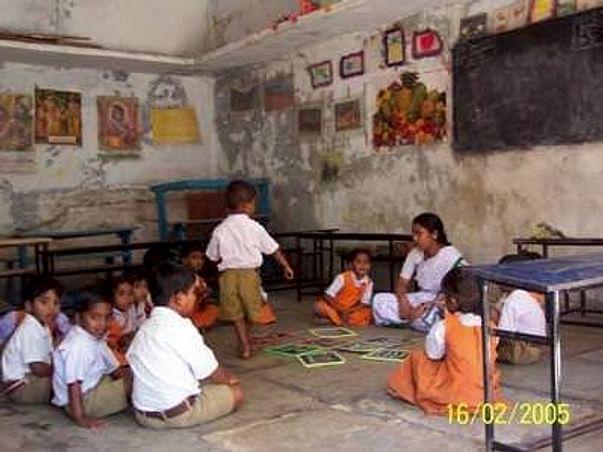 Help Poor Kids' Education Saraswathi Sisu Mandir Padmarao Nagar