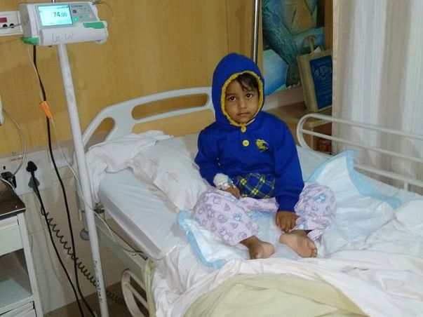 Syed mohd.Asad fight Blood cancer