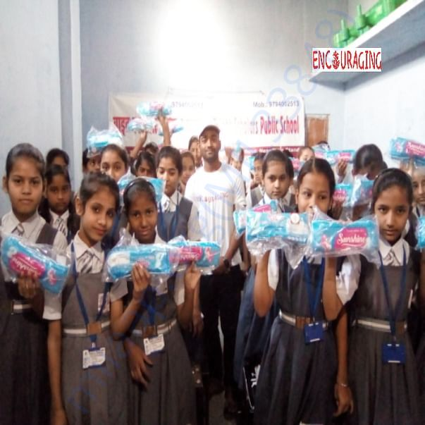 Menstrual hygiene campaign by Encouraging