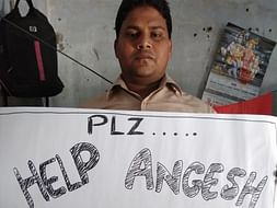 Help Angesh To Complete His Studies