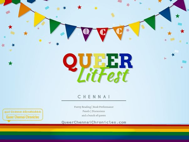 Support Queer LitFest in Chennai, India