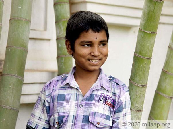 15-year-old Pramod needs a bone marrow transplant to survive