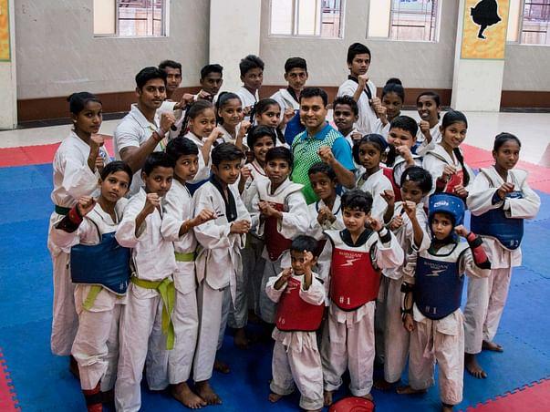 Help This Mumbaikar Empower Slum Kids With Taekwondo Classes