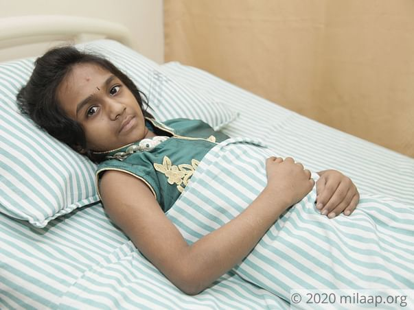 This 8-year-old has to fight a deadly disease to survive