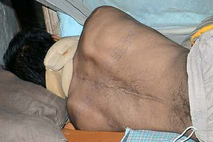 I request you to please help him and his elderly parents