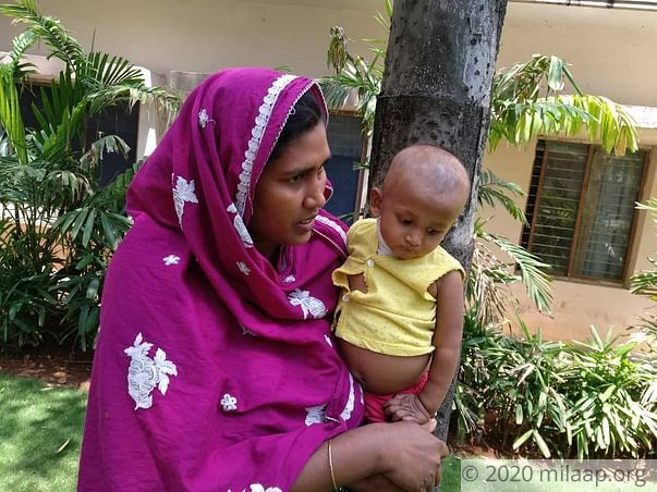 I Can't Let Poverty Stop Me From Saving My Baby From Liver Cancer