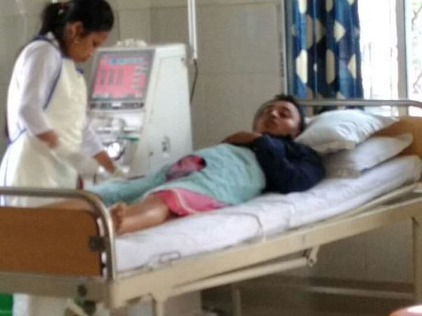 28 yrs Saidul is Suffering from last stage chronic kidney disease.