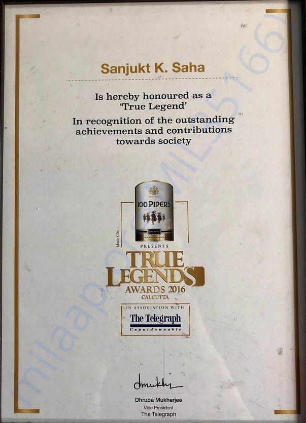 Telegraph True Legend Award