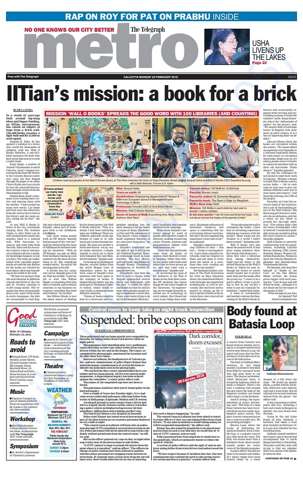 IITian's mission: a book for a brick