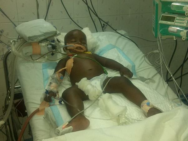 My Son has admitted due to sever Community acquired pneumonia