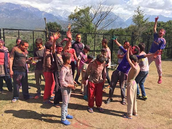 This Woman From Norway Is Caring For Needy Children In India