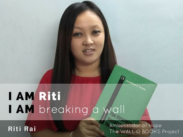 Join Riti to bring hope to 1 Million Kids in India