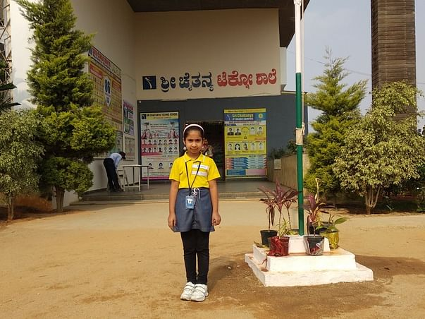 Help 8-Year-Old Geethanjali Go To School