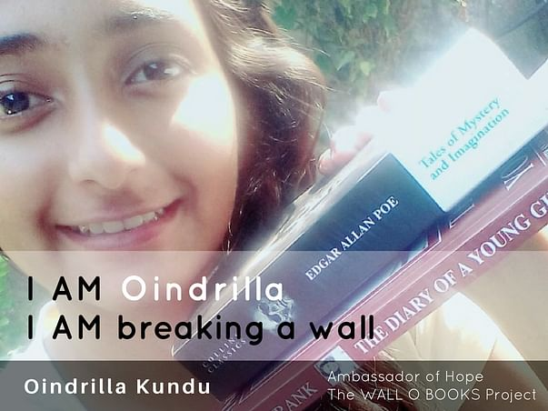 Join Oindrilla to bring hope to 1 Million Kids in India