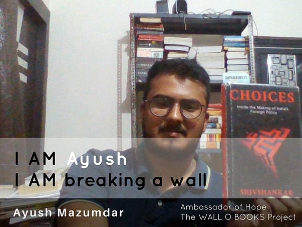 Join Ayush to bring hope to 1 Million Kids in India