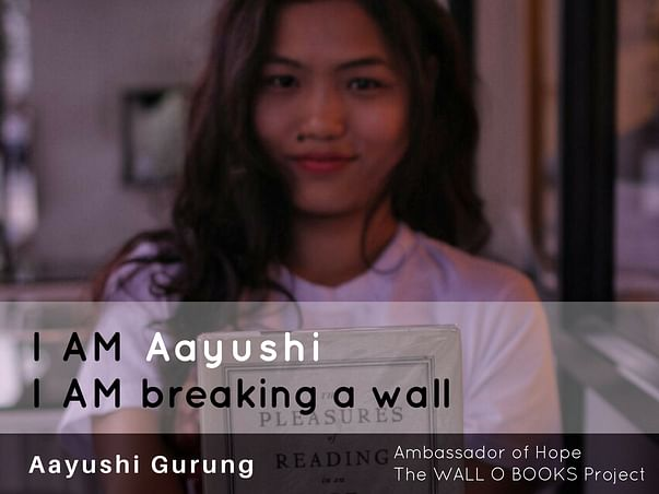 Join Aayushi to bring hope to 1 Million Kids in India