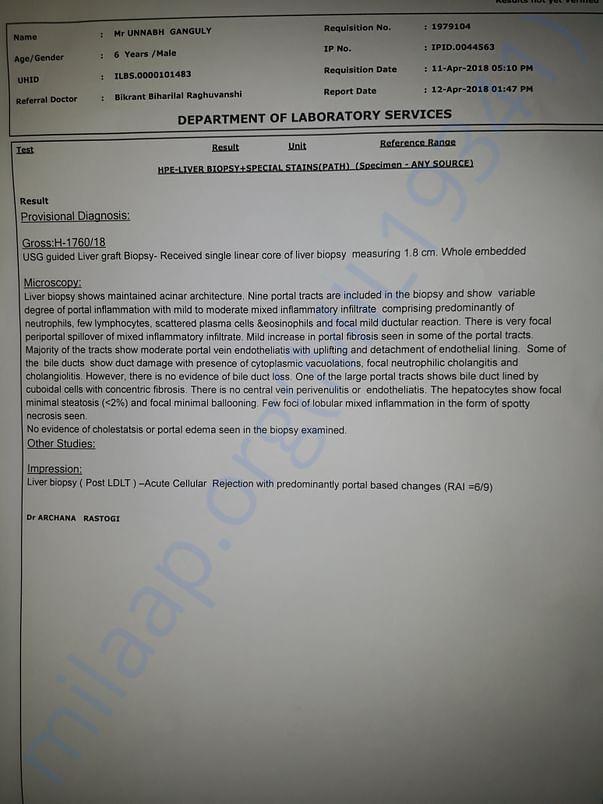 LIVER BIOPSY REPORT- 12.04.18