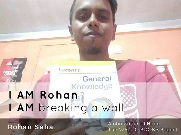 Join Rohan to bring hope to 1 Million Kids in India