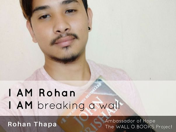 Join Rohan Thapa to bring hope to 1 Million Kids in India