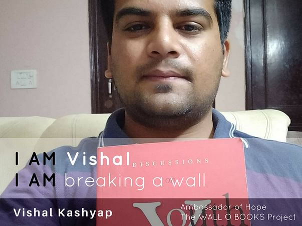 Join Vishal to bring hope to 1 Million Kids in India
