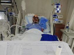 Help Nrusingha Who Met With A Tragic Accident And Save His Life.