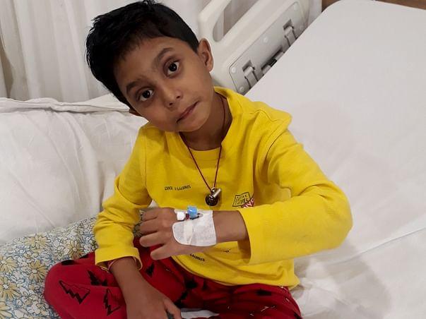 Help Unnabh Survive His Liver Transplant