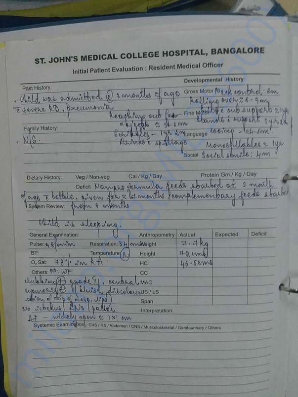 St John's Test